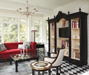 Antique-Bookcase