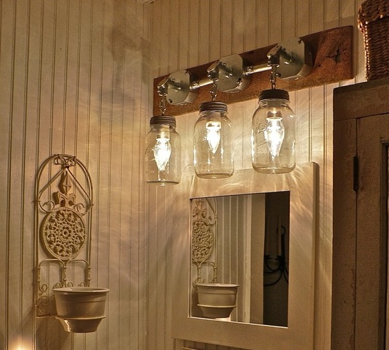 mason jar bathroom light fixture rub a dub dub switch up your tub 23747