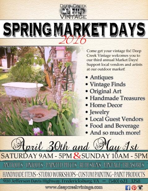 DCV Spring Market Days
