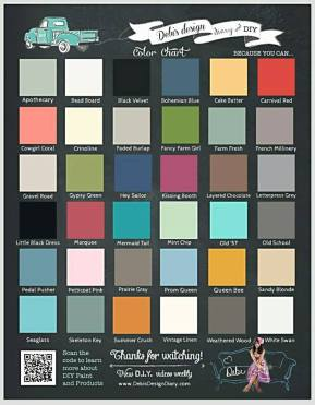 color chart DIY